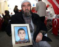 15 YILDIR ÇOCUĞU PKK'NIN ELİNDE OLAN SİİRTLİ SALİH SADAK EVLAT NÖBETİNDE