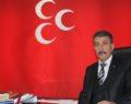 MHP SİİRT İL BAŞKANI CANTÜRK'DEN BAHÇELİ'YE DESTEK