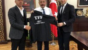 İL HAKEM KURULUNDAN, VALİ ATİK'E ZİYARET