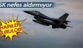 SİİRT'TE PKK'YA HAVA HAREKÂTI: 3 TERÖRİST ÖLDÜRÜLDÜ