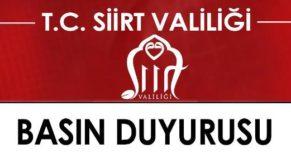 BAYKAN'DA PKK OPERASYONU NEDENİYLE SOKAĞA ÇIKMA YASAĞI İLAN EDİLDİ