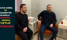 SİİRTLİ GENÇLERDEN YERLİ ARAPÇA 'LEYLA' TÜRKÜSÜ