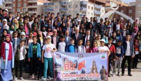 SİİRT'EN 200 ÖĞRENCİ ÇANAKKALE'YE UĞURLANDI