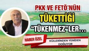"""PKK VE FETÖ'NÜN TÜKETTİĞİ """"TÜKENMEZ""""LER…"""