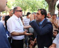SİİRT HDP'NİN OTURMA EYLEMİNDE GERGİN ANLAR