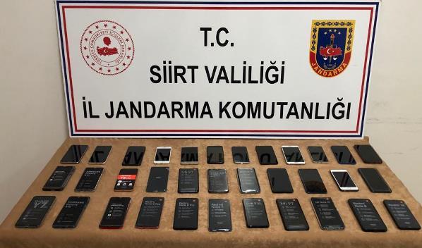 KURTALAN'DA KAÇAK CEP TELEFONU OPERASYONU
