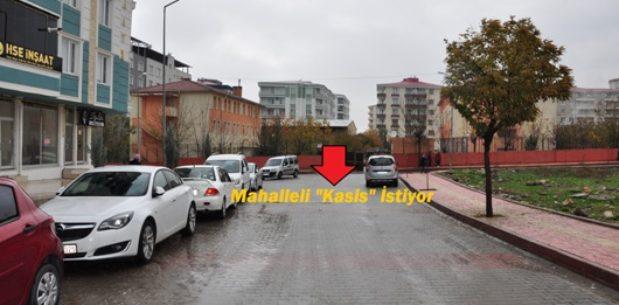 """MAHALLELİ """"KASİS"""" İSTİYOR"""