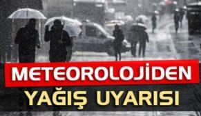 METEOROLOJİ'DEN SİİRT'E YAĞIŞ UYARISI!..