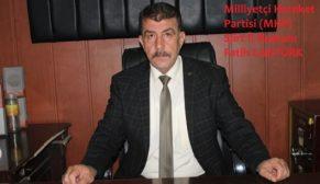 MHP SİİRT İL BAŞKANI CANTÜRK KIZILCAHAMAM KAMPI YOLCUSU