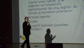 """ÇOCUKLARIMIZIN GÖREMEDİĞİMİZ DÜNYASI""""  KONFERANSI"""