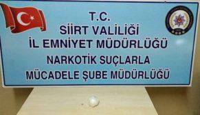 """SİİRT NARKOTİK EKİPLERİ,""""TORBACI"""" AVINDA"""