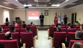 """""""KADINA YÖNELİK ŞİDDETLE MÜCADELE"""" EĞİTİM SEMİNERİ VERİLDİ"""
