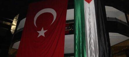 SİİRT BELEDİYESİ'NDEN FİLİSTİN'E BAYRAKLI DESTEK!..