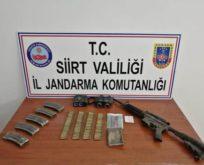 SİİRT'TE ÖLDÜRÜLEN PKK'LI 3 TERÖRİSTE AİT MÜHİMMAT ELE GEÇİRİLDİ