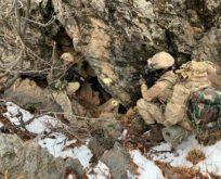 BAYKAN KIRSALINDA PKK'NIN KIŞ ÜSLENMESİNE DARBE