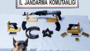 "SİİRT JANDARMA'DAN SİLAH KAÇAKÇILARINA ""BİNGO"""