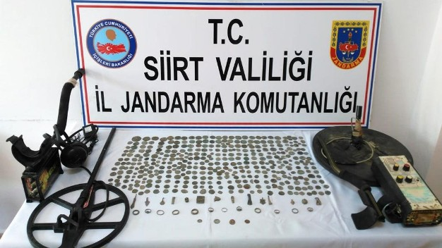 JANDARMADAN TARİHİ ESER KAÇAKÇILARINA DARBE!..