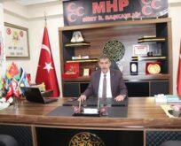 SİİRT MHP'DEN İSRAİL'E SERT TEPKİ
