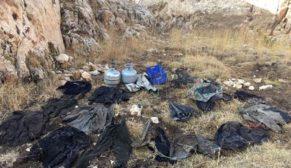HEREKOL'DA PKK'NIN KIŞ YAPILANMASINA DARBE İNDİRİLDİ