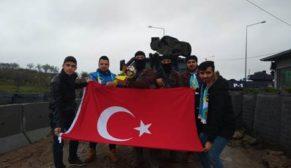 ŞEHR-İ KARANİ TARAFTAR GRUBUNDAN POLİSE MORAL ZİYARETİ