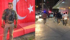 CORONA'DAN VEFAT EDEN POLİS MEMURU MEMLEKETİNE UĞURLANDI