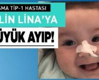 SMA HASTASI EFLİN LİNA BEBEĞE BÜYÜK AYIP!..