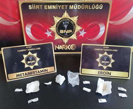 SİİRT'TE UYUŞTURUCU TACİRLERİNE BİR DARBE DAHA!..