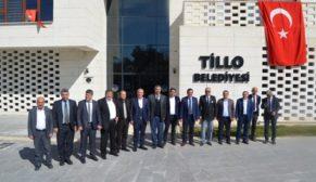 TİLLO'DA TARIM DEĞERLENDİRME TOPLANTISI YAPILDI