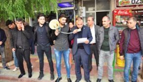 SİİRT ÜLKÜ OCAKLARINDAN 'ÖĞRENCİ ANDI' EYLEMİ