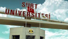 SİİRT ÜNİVERSİTESİ 2 ÖĞRETİM ÜYESİ ALIYOR!..