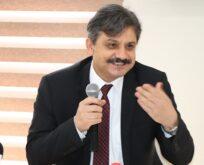 REKTÖR PROF. DR. NİHAT ŞINDAK GAZETECİLERLE BİR ARAYA GELDİ