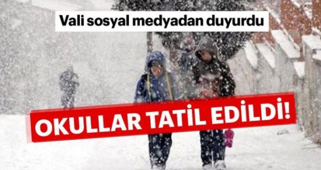 SİİRT'TE OKULLAR YENİDEN TATİL EDİLDİ