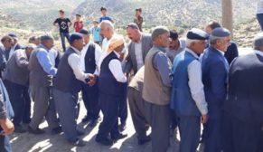 PERVARİ'DE HUSUMETLİ KÖYLÜLERİ KARASUNGUR SEYİDLERİ BARIŞTIRDI