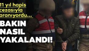 SİİRT'TE, 11 YIL HAPİSLE ARANAN PKK'LI YAKALANDI