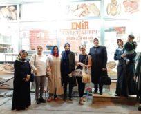 SİİRT'TE MHP'Lİ KADINLARDAN 'ASKIDA EKMEK' UYGULAMASI