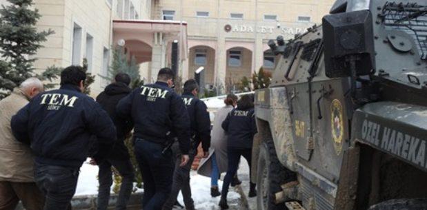SİİRT'TE PKK/KCK OPERASYONU: 16 GÖZALTI