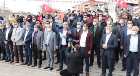 SİİRT'TE STK'LARDAN AMİRALLERİN BİLDİRİSİNE ORTAK TEPKİ
