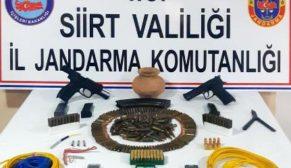 SİİRT'TE TERÖR VE ORGANİZE SUÇLULARA OPERASYON