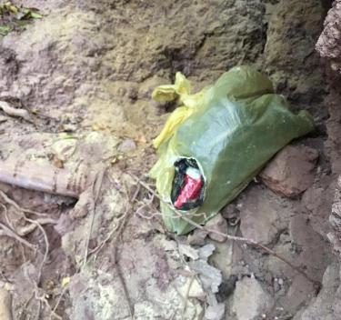 ŞİRVAN'DA PKK'YA AİT PATLAYICI BULUNDU